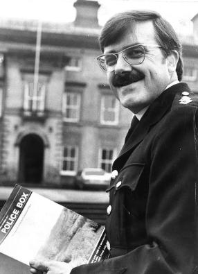 Dad in the 1970s when he was press officer for North Yorkshire Police