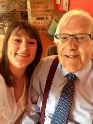 Peter Walker with his daughter Sarah
