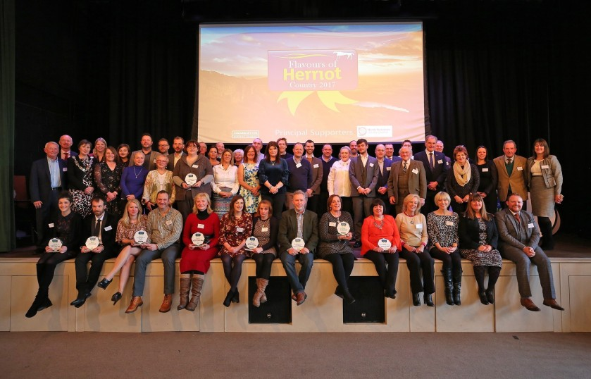 All the winners and sponsors at the Flavours of Herriot Awards