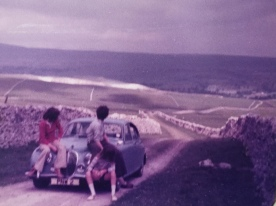 It was a bumpy ride there but the views of the Yorkshire Dales were magnificent