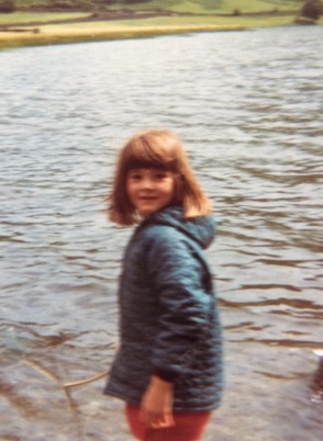 Me playing on the shores of Brothers Water in thrvAke District in 1978