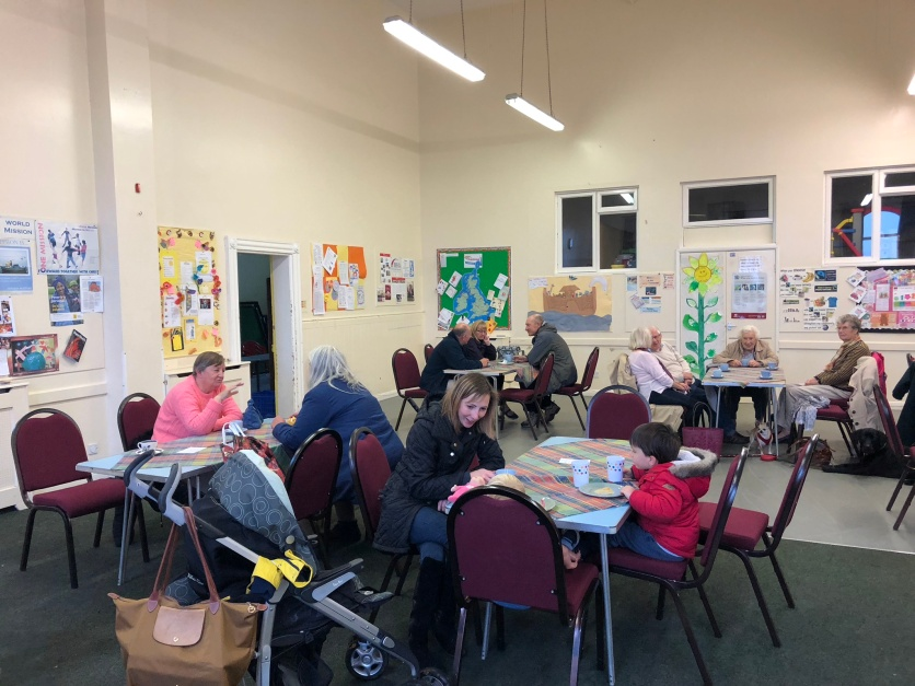 Cake and a Cuppa for young and old at Pickering Methodist Church