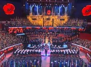The ceremony marked 100 years since the Armistice
