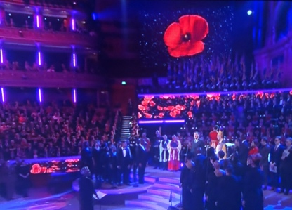 The Festival of Remembrance was very moving