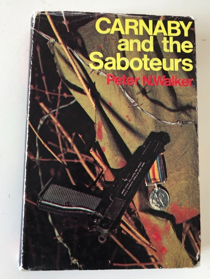 Carnaby and the Saboteurs, the 1970 novel by my dad whee I found the four-leaf clover