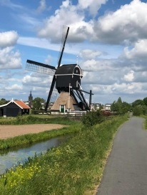 A windmill near the village of Streefkerk, the Netherlands, by Debora Cessford-Bouterse