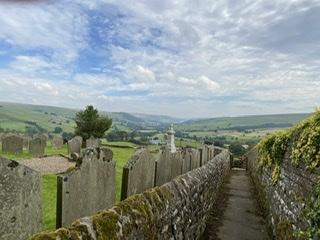 View down Nidderdale